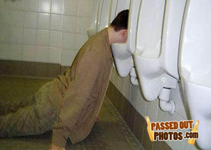 Urinal-passed-out