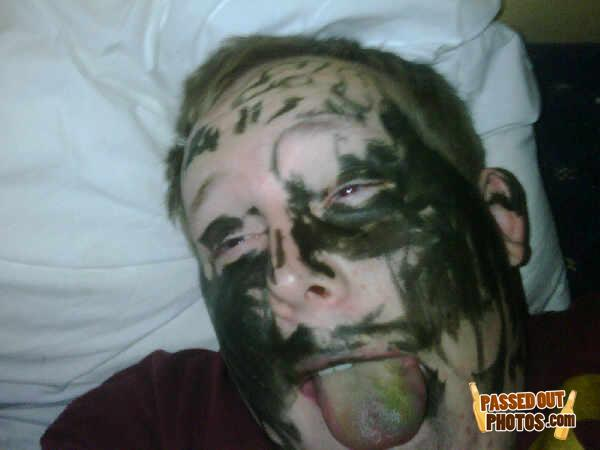 - He must like the taste of markers!
